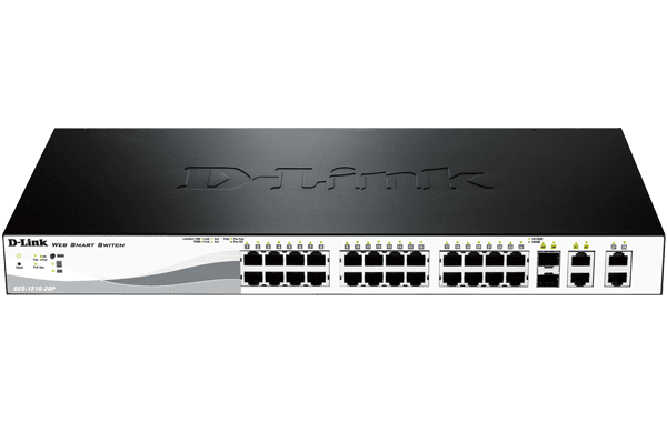 DES-1210-28P Smart Switch PoE