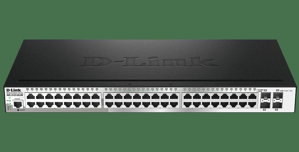 Switche Ethernet Metro Série DGS-1510