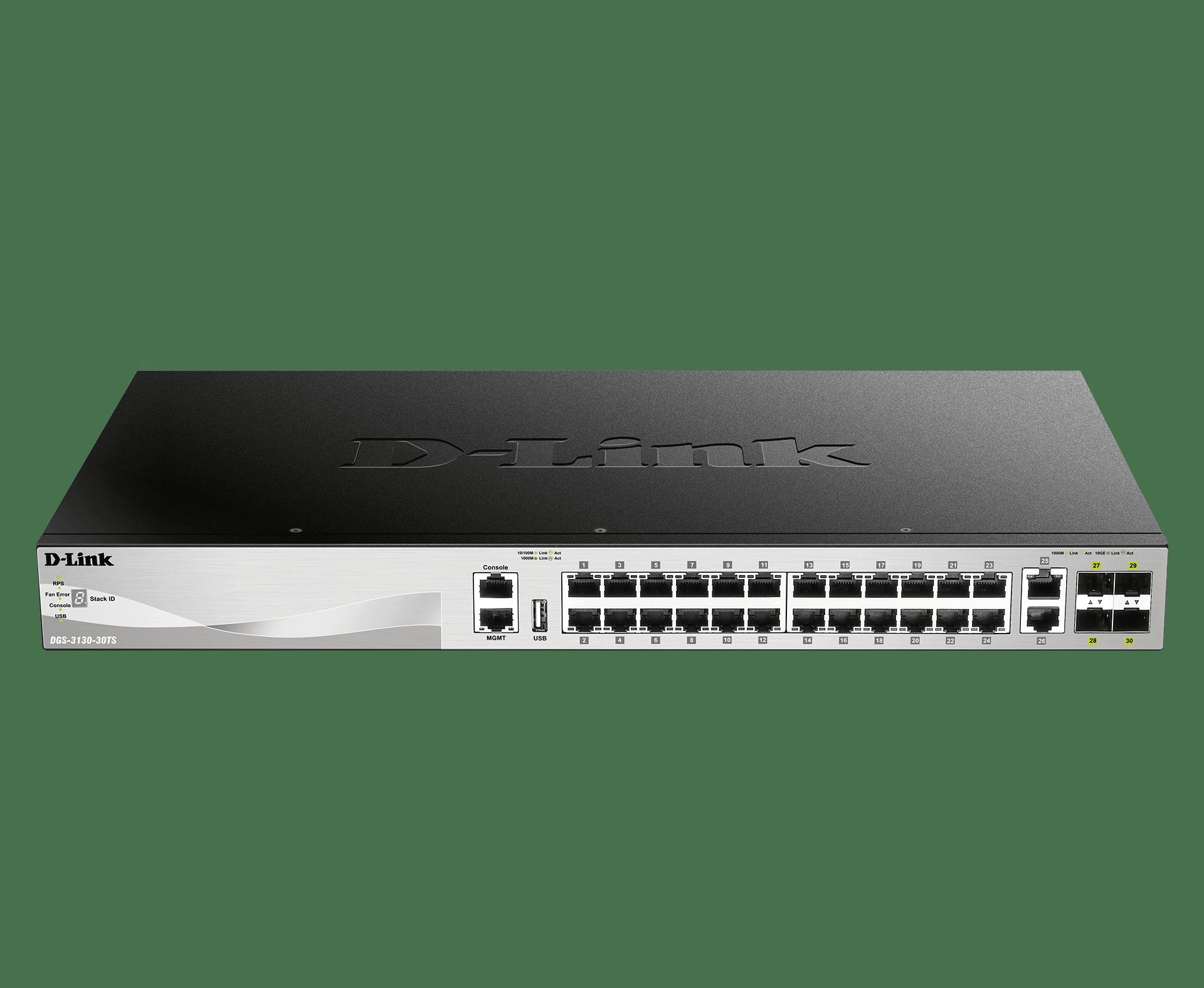 Switch Gigabit Gerenciável de 30 Portas e 3 Camadas