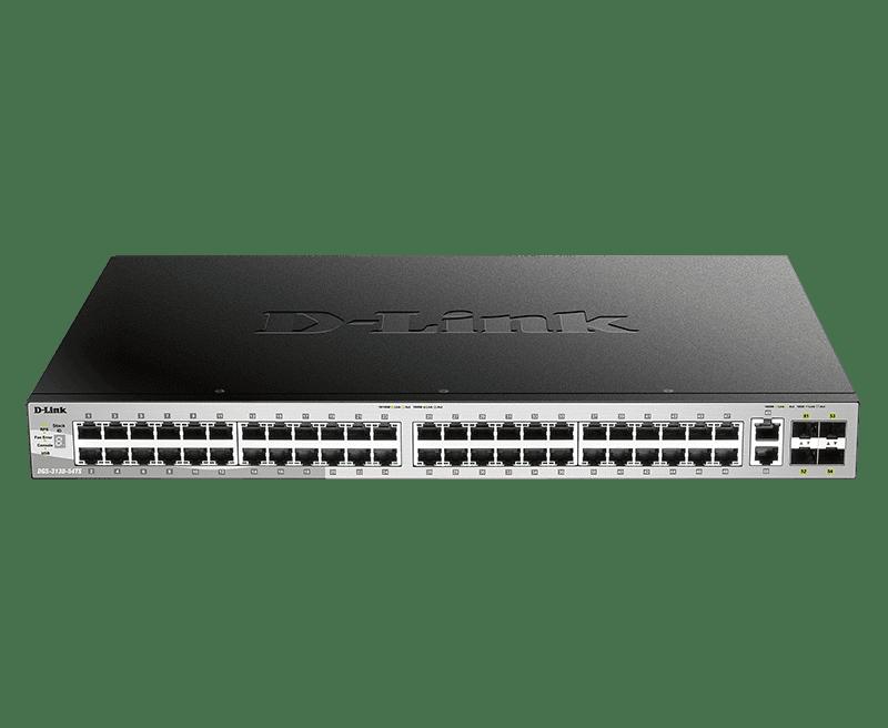 Switch Gigabit Gerenciável de 54 Portas e 3 Camadas