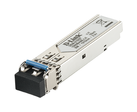 Transceiver SFP 1000BASE‑LX Monomodo 10Km