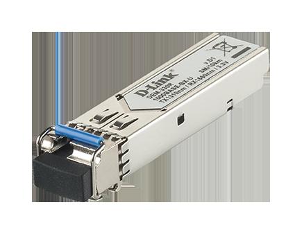 Transceiver SFP WDM 1000Base-BXU Monomodo 10Km