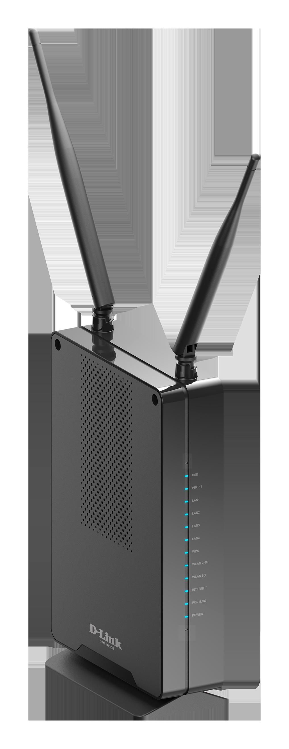 GPON ONT Wi-Fi AC1200 Gigabit Ethernet