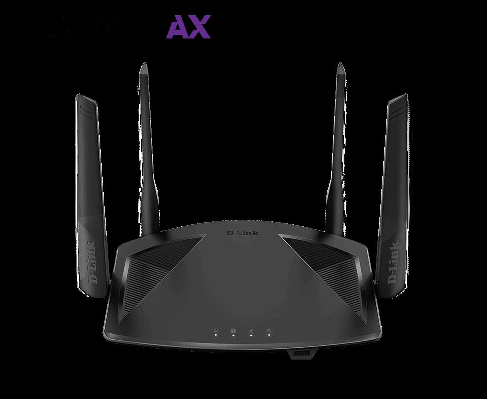 Roteador Wi-Fi 6 EXO AX1800 Gigabit